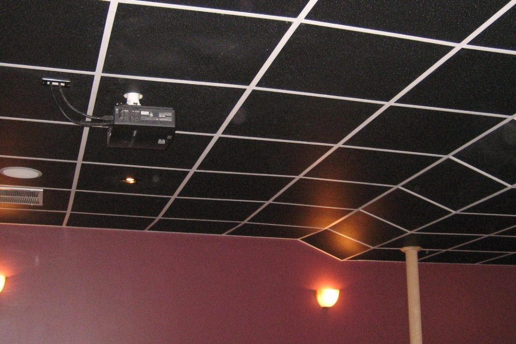Black Ceiling Tiles Variety Of Options Intersource