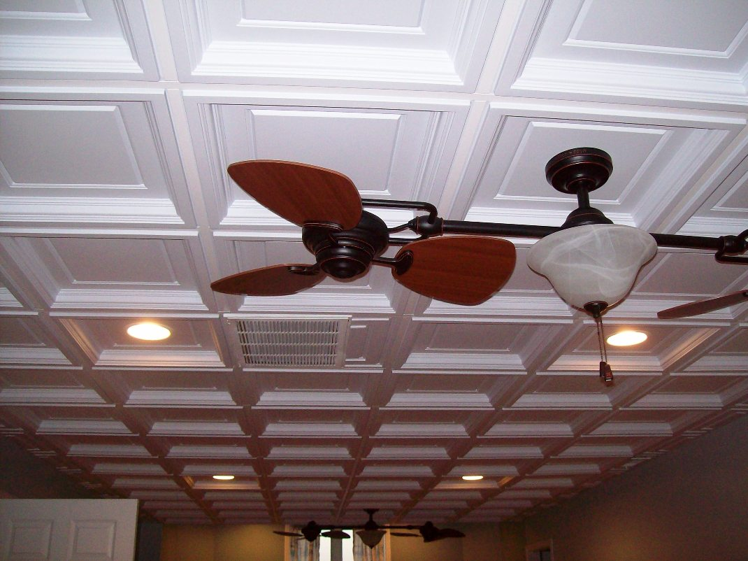 Image of: Madison Coffered Ceiling Tiles Intersource Specialties Co