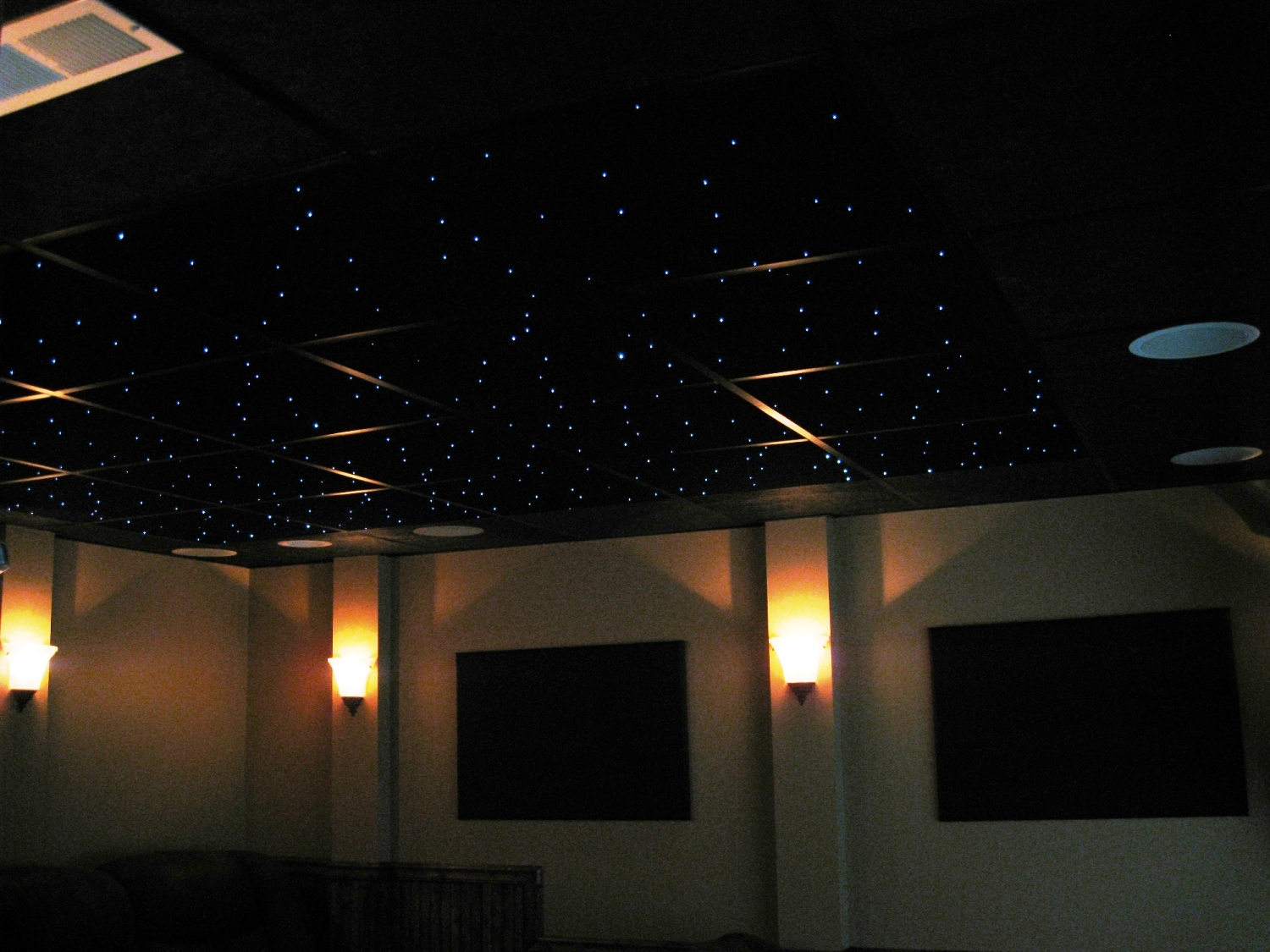 Fiber Optic Star Ceiling Panels Made With Quality Acoustic