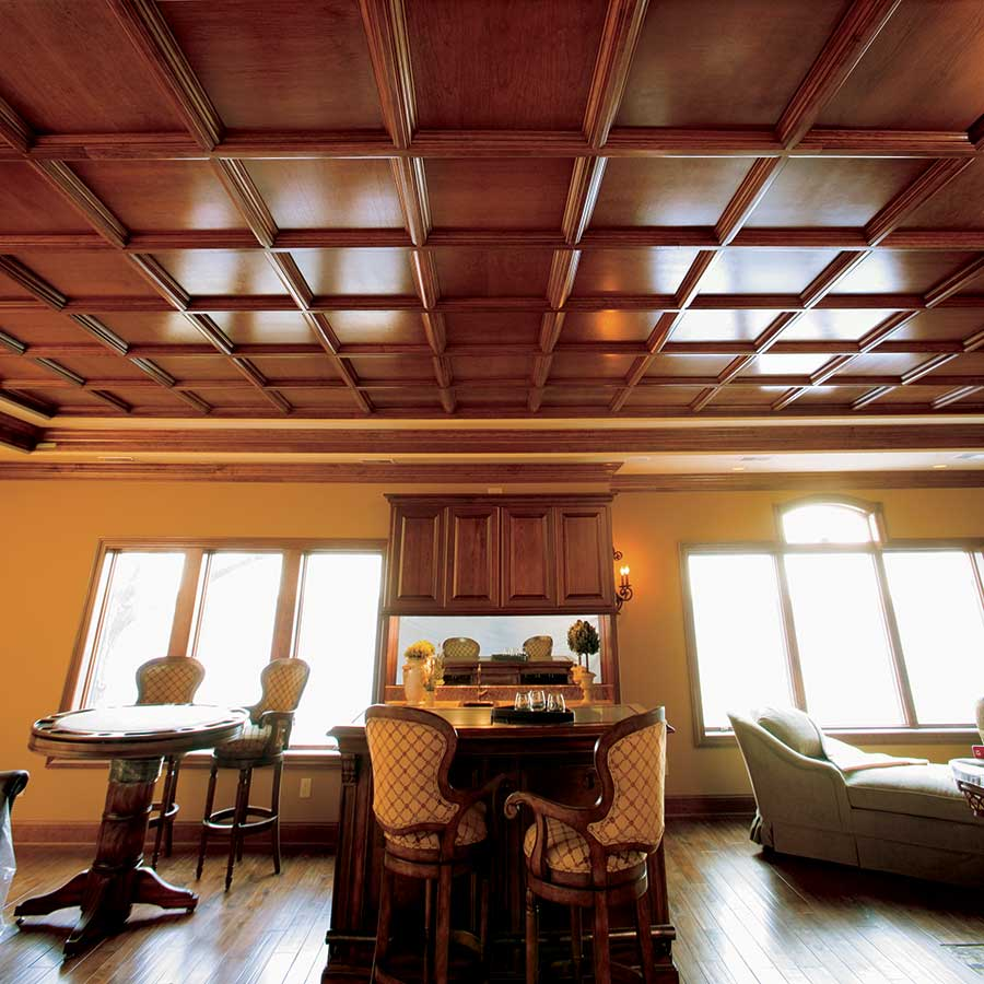 Evoba Wood Ceilings Intersource Specialties Co