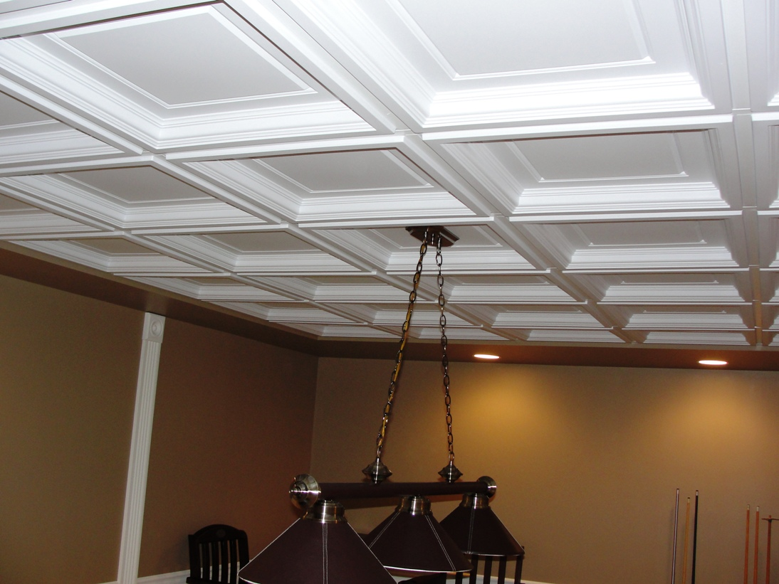 Madison Coffered Ceiling Tiles Intersource Specialties Co