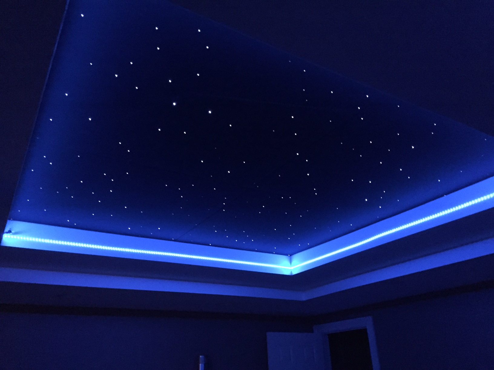 Star Ceiling Panels Fiberoptic Stars With Led Engines Easy To Install Made In