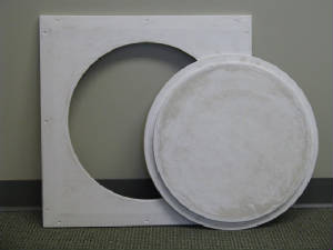 Round Drywall Ceiling Access Doors Intersource