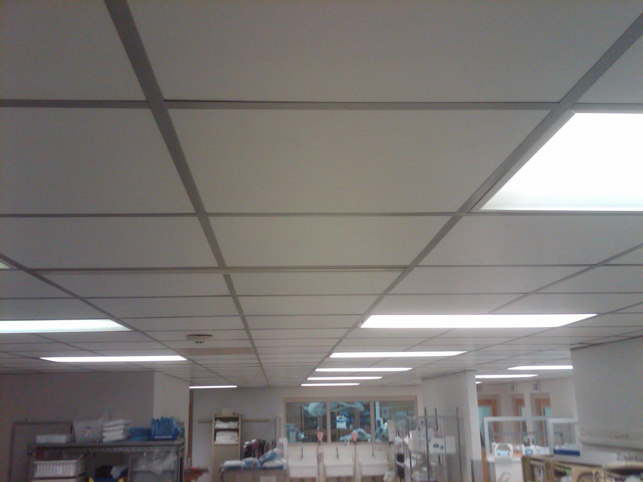 Duroglas Plus Pvc Clean Room Ceiling Tiles Intersource