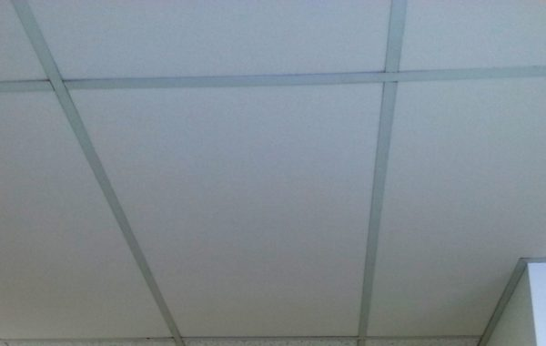 Insulated drop ceiling tiles