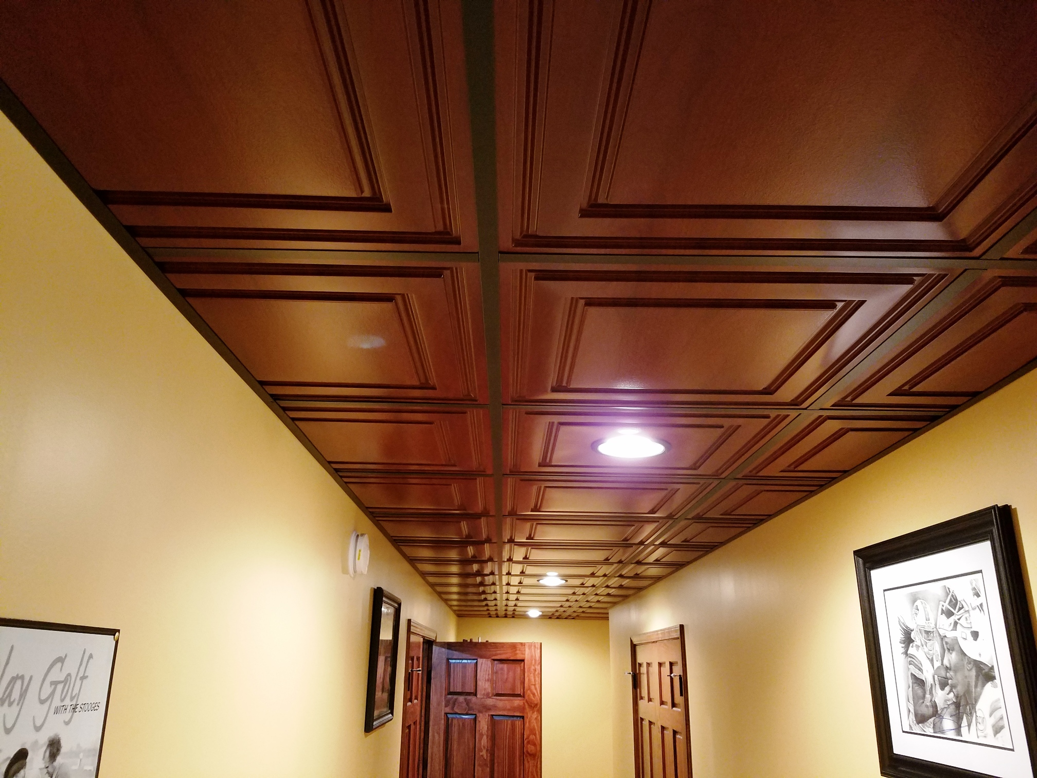 Image of: Ceilume Faux Wood Intersource Specialties Co