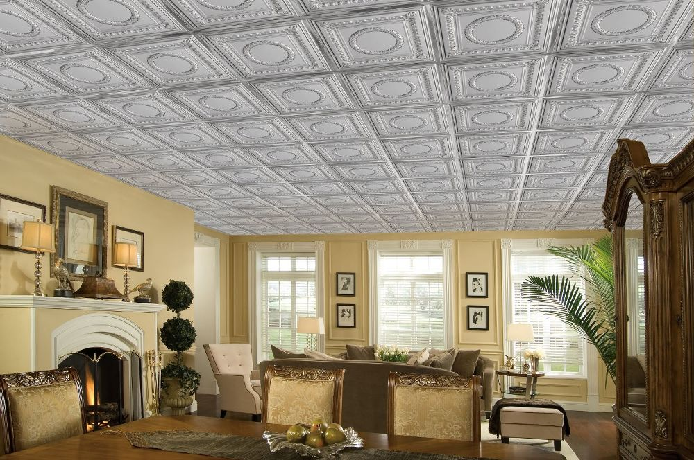 A Homeowners Guide To Ceiling Tile Hunker