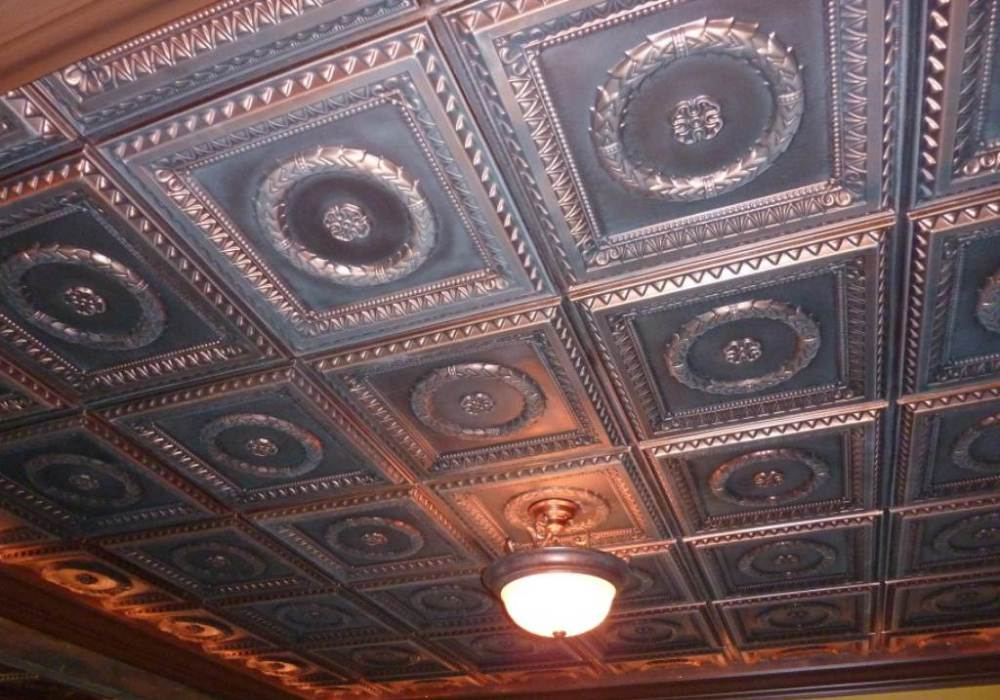 Faux Tin Ceiling Tile - InterSource Specialties Co.