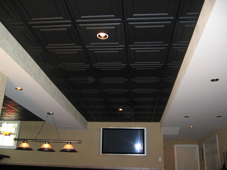 Ceilume Stratford Black Ceiling Tiles Wholesale Pricing Free
